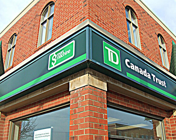 My Bank, Streetsville: Toronto Dominion/Canada Trust