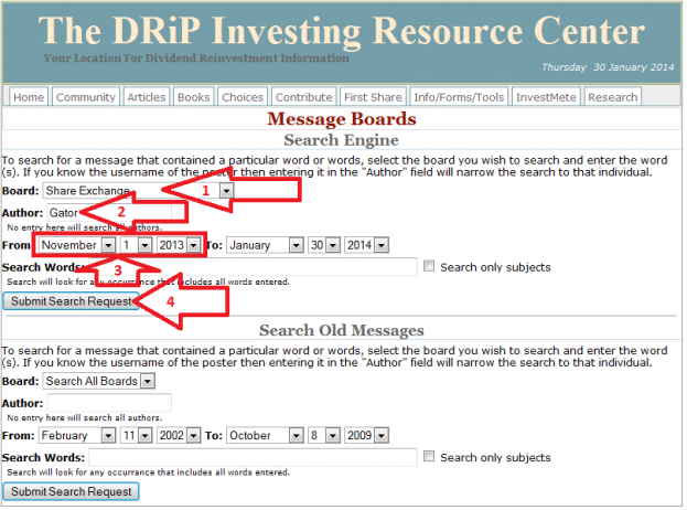 12 - How to buy a share on the DRIP Investing Resource Center's share exchange