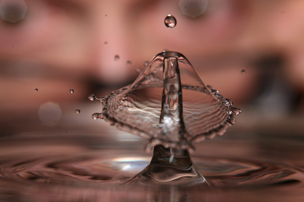 When Water Drops Collide